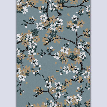 Newest design modern style polyester microfiber carpets for decoration