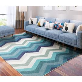 Jacquard microfiber decorative carpet for livingroom