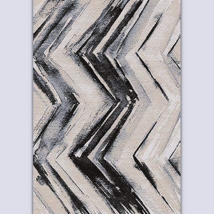 High quality jacquard circular knitting machine made retro carpets
