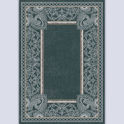 New design soft microfiber polyester carpets from Tianjin China