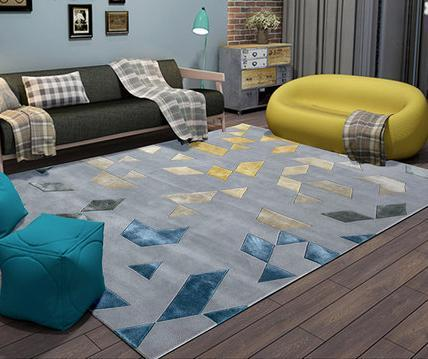 Modern design 100% polyester carpets and rugs for livingroom