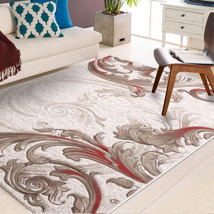 Modern design machine-made 100% polyester carpet for decoration