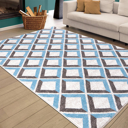 High quality jacquard polyester microfiber floor carpets