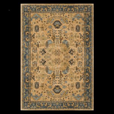 High quality jacquard western style floor carpets for livingroom