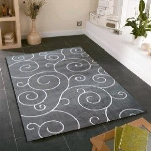 High quality jacquard soft microfiber material rugs