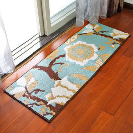 High quality jacquard microfiber rugs for livingroom and bathroom