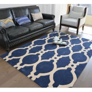 Machine made polyester soft microfiber carpets and rugs for livingroom