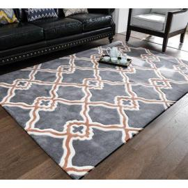 New design polyester soft microfiber decorative carpets and rugs