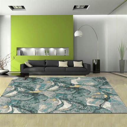 Machine made 100% polyester fashionable livingroom floor carpet