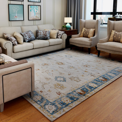 High quality machine made soft microfiber floor carpets