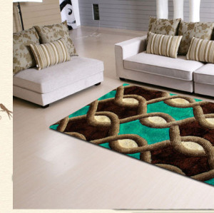 2017 modern living room home decor 3d shaggy carpet