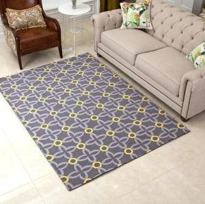 Hot selling 100% polyester floor carpets for livingroom