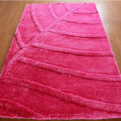 2017 modern design stretch yarn and polyester silk carpet rug
