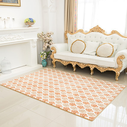 Best price jacquard 100% polyester microfiber carpets for wholesale