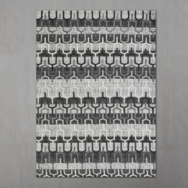 Hot selling jacquard soft microfiber carpet tiles
