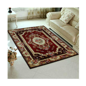 Hot selling jacquard 100% polyester floor carpet for livingroom