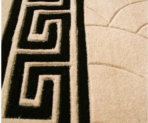 Hot selling jacquard 100% polyester floor carpet for livingroom