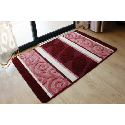 High quality soft microfiber anti-slip door mats or bath mats