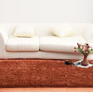 Handtufted microfiber shaggy floor carpets for livingroom