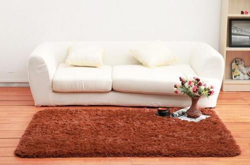 Handtufted microfiber shaggy floor carpets for livingroom