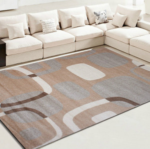 Machine made 100% polyester microfiber carpets for livingroom