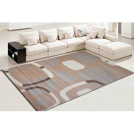 Machine made 100% polyester microfiber carpets for livingroom