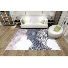 High quality polyester microfiber carpets for decoration