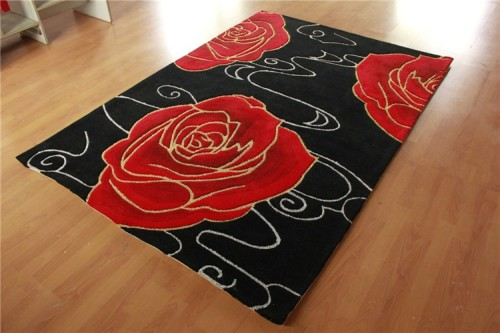Home Decoration New Products luxury Comfortable jacuquard rug carpet