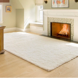 Handtufted 100% polyester shaggy floor carpets for wholesale