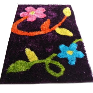 Top Quality Hot Sell flower Shaggy Carpets