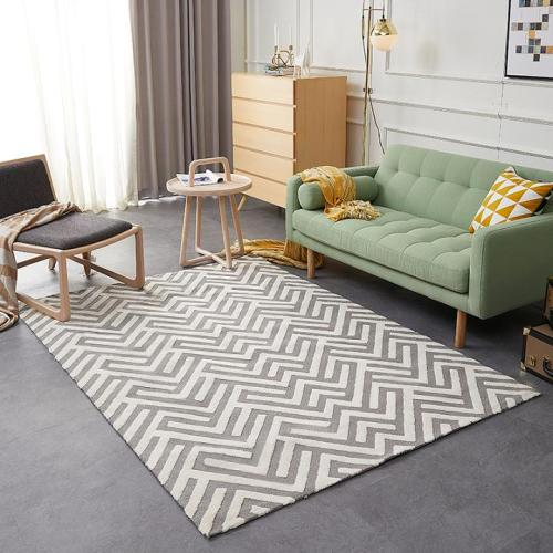 High quality better price jacquard microfiber material rugs