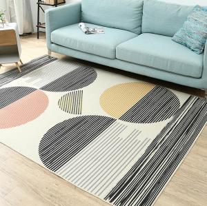 Machine made polyester soft microfiber carpets for livingroom