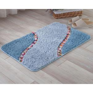 High quality handtufted polyester shaggy door mats carpet piles