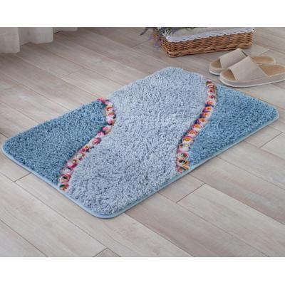 High quality handtufted polyester shaggy door mats carpet piles