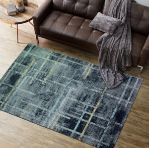 Fashionable design 100% polyester floor carpets and rugs