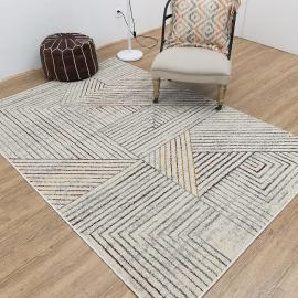 Hot selling jacquard geometric pattern floor rugs