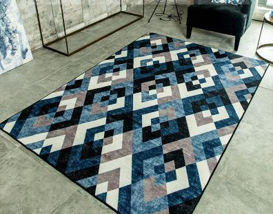 High quality machine made 100% polyester flor carpets and rugs