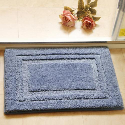 Wholesale handtufted 100% polyester shaggy mats for outdoor or bathroom