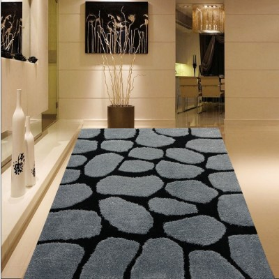 polyester popular 3D design shaggy carpet China, modern shaggy carpet