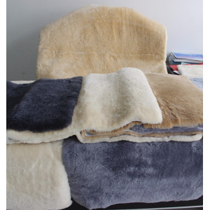 Home designs very soft artificial sheep wool carpets