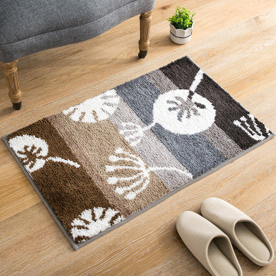 Modern design polyester rugs for bed side or livingroom