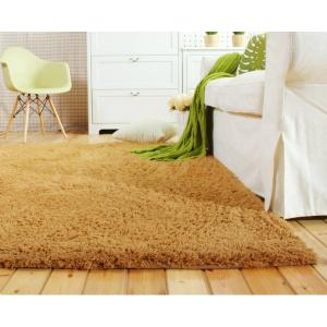 Thick tufted comfortable polyester shaggy carpets for bedroom