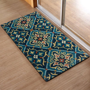 Hot selling high quality polyester microfiber rugs for livingroom or bathroom