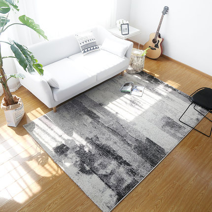 Modern design jacquard space-dyed floor carpets and rugs
