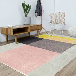 Machine made simple style floor carpets for room decoration
