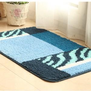 Durable anti slip polyester custom flooring mat