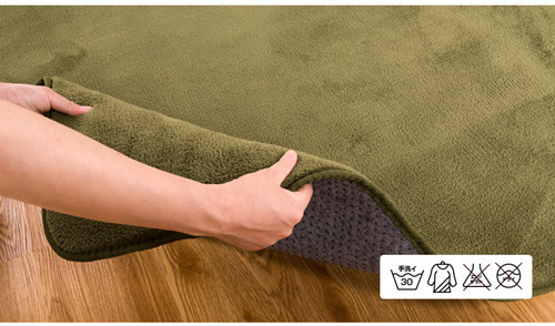 Plain dot backing polyester exhibition carpets and rugs for living room