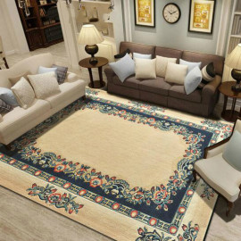 New design machine made polyester carpets for livingroom