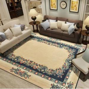 New design machine made polyester carpets for livingroom