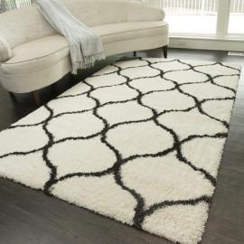 Hot sale plain design jacquard mats very soft carpets and rugs